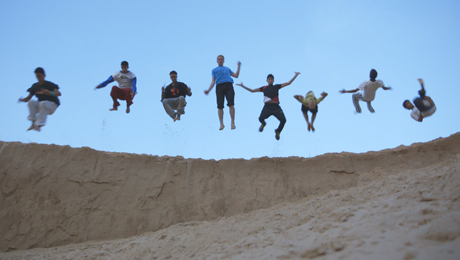 THE FLYING BOYS OF GAZA
