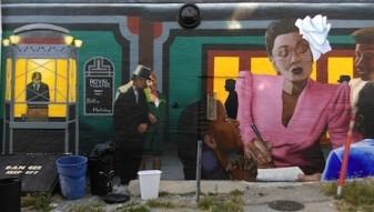 Street Art Billie