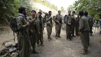 web PKK-Bataillon in den Kandilbergen:Nordirak