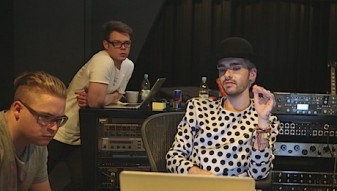 web_Tokio Hotel im Studio in Berlin_copyright Bildersturm Filmproduktion